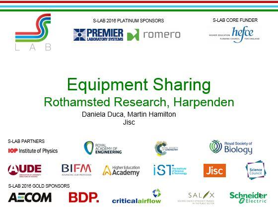 equipment sharing